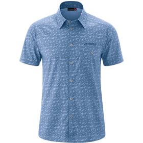 Maier Sports Lorcan T-shirt Heren, blue allover